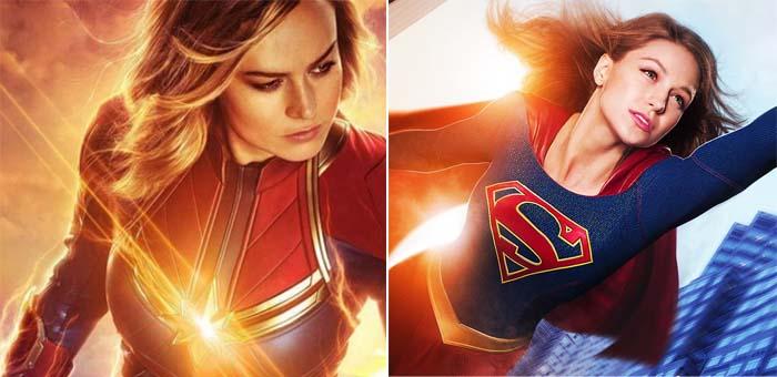 Curiosidade: 8 personagens com o mesmo sobrenome na Marvel e DC. Supergirl e Capitã Marvel
