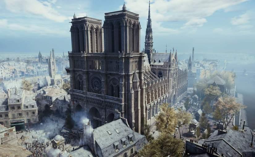Notre Dame será reconstruída com a ajuda de Assassin's CreedUnity