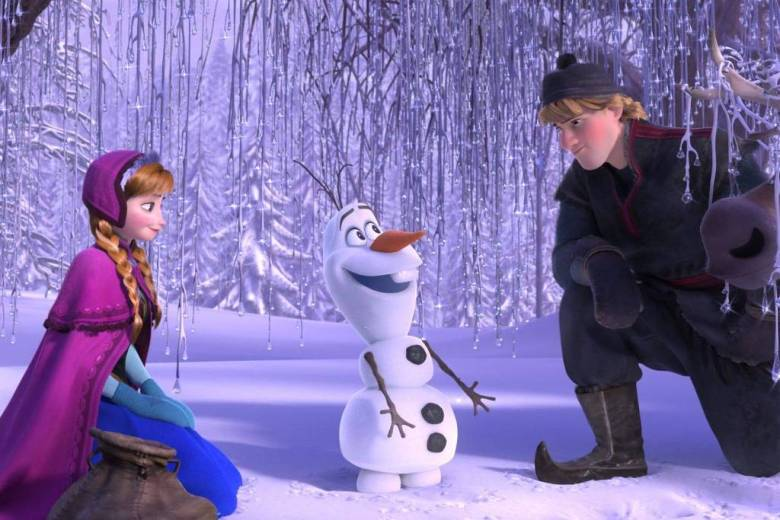 O divertido Olaf será dublado pelo Fábio Porchat