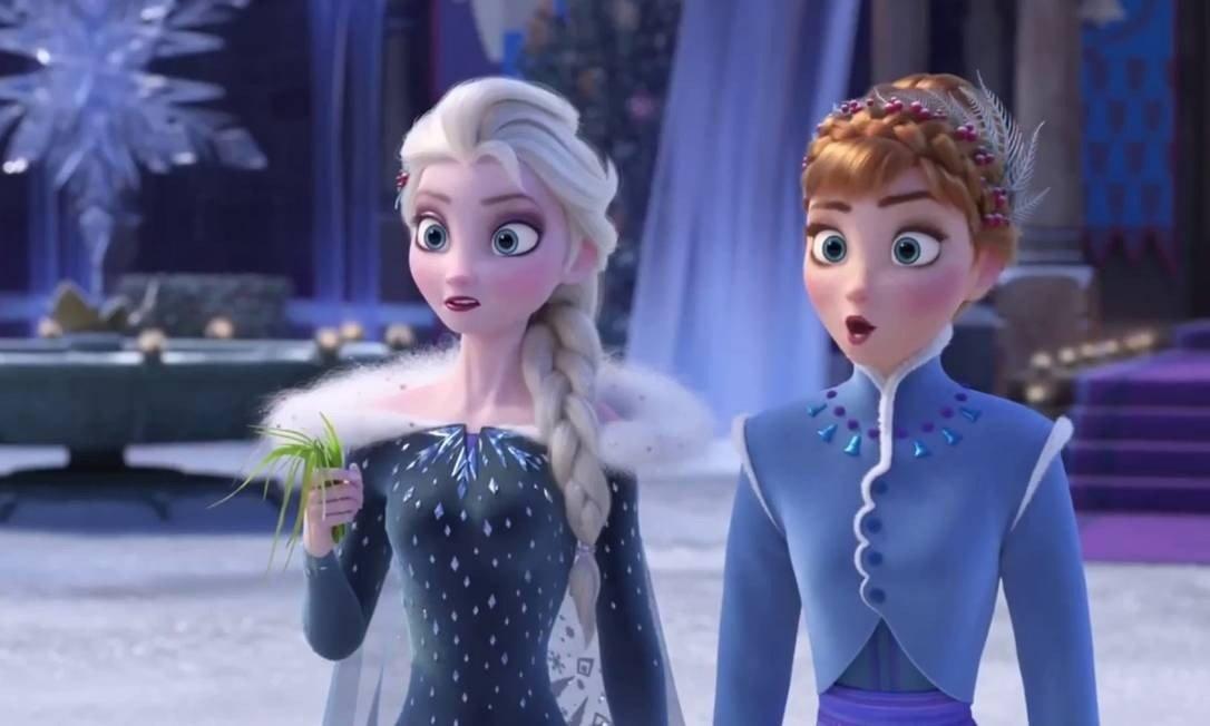 As princesas de Frozen viverão mais uma aventura