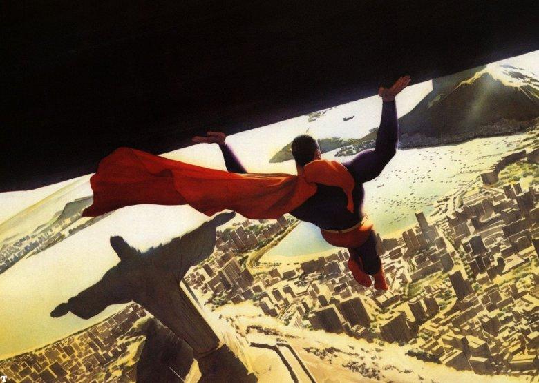 Superman no Rio de Janeiro: Hq Paz na Terra