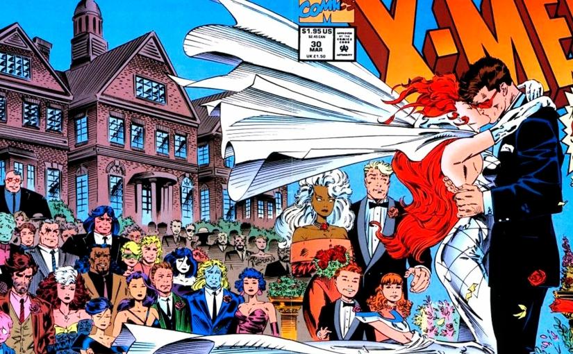 Casamento de Jean e Scott | um dos momentos mais emocionantes dos X-men nasHQs