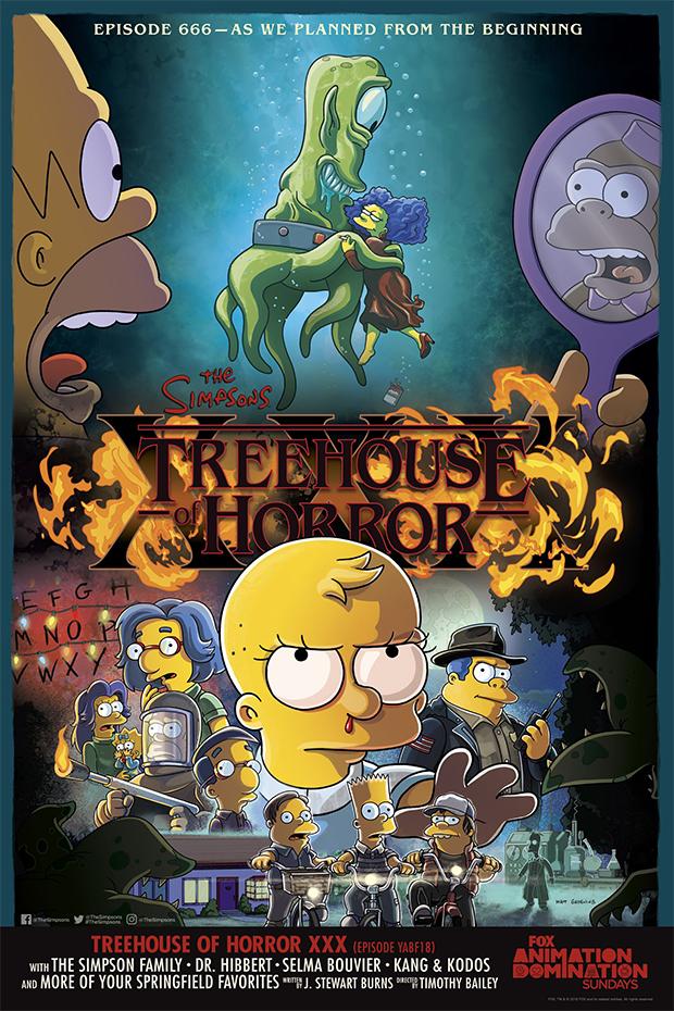Simpsons  episódio de Halloween será inspirado em Stranger Things