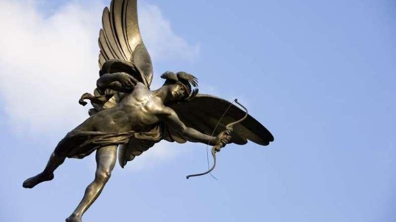 A imagem de Eros mudou muito ao longo dos séculos