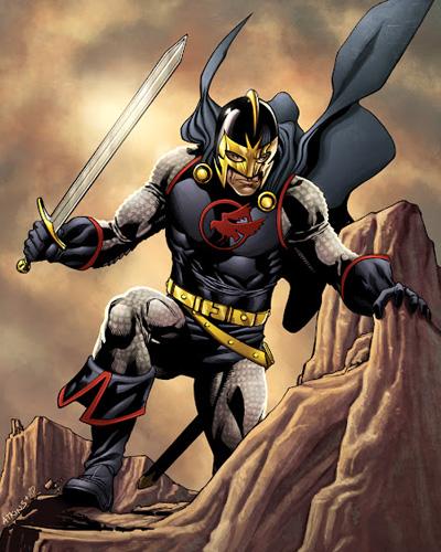 Conheça o Cavaleiro Negro, personagem de Kit Harington na Marvel