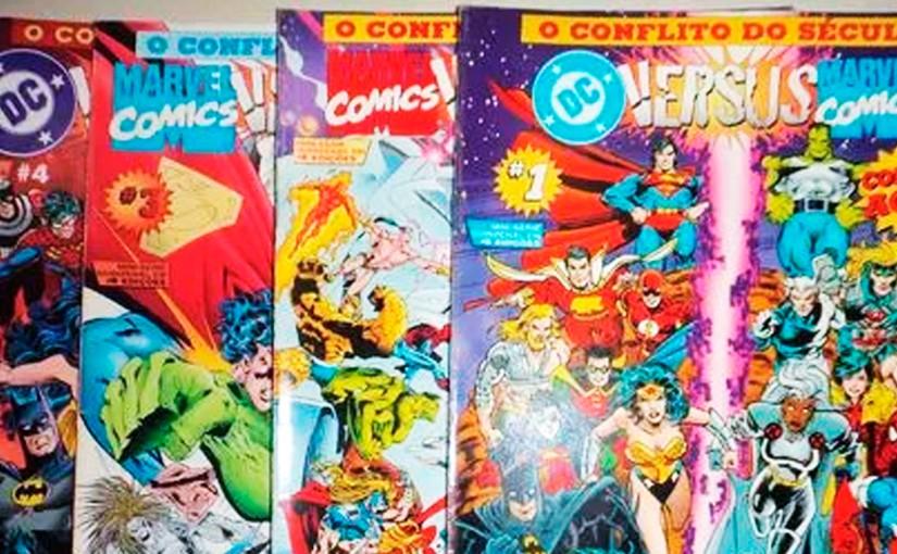 Marvel vs DC: O Conflito doSéculo