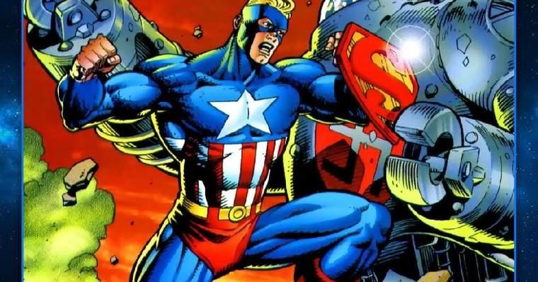Supersoldado: Superman + Capitão América