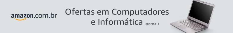 Banner Ofertas Computadores e Informática na Amazon