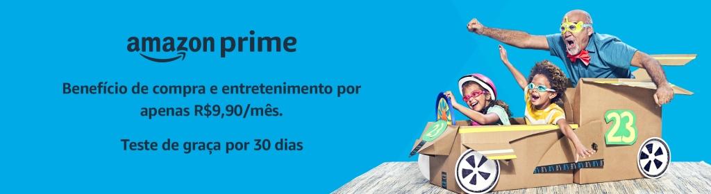 Banner Amazon Prime por R$ 9,90
