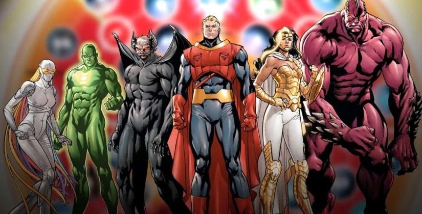 Como era a Liga da Justiça criada por StanLee