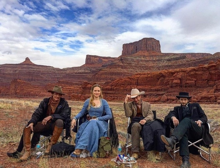 As filmagens de Westworld